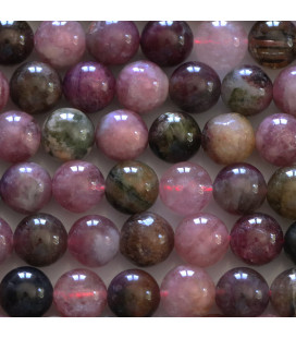 BeauMonde Jewelry - Tourmaline 8 mm mixed round bead