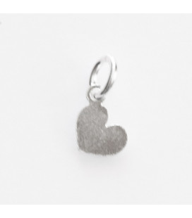 BeauMonde Jewelry - Heart 6x5 mm ring on the side + ring for hanging