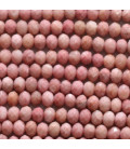 Rhodonite 4x2 mm faceted washer China