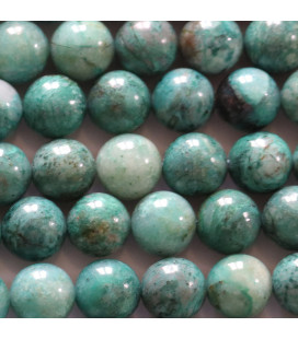Chrysocolle 4 mm perle ronde