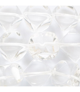BeauMonde Jewelry - Crystal 12x14 mm rounded square cut