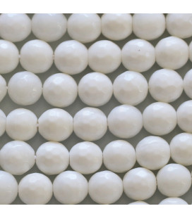 BeauMonde Jewelry - Shell 8 mm round bead small facets
