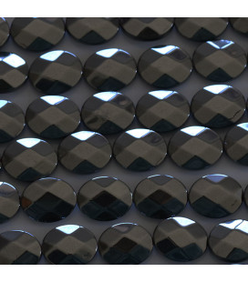 BeauMonde Jewelry - Hematite 10x8 mm oval faceted