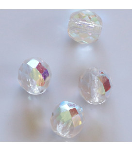 BeauMonde Jewelry - Bohemian faceted round 10 mm bead (in a packet)