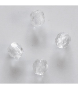 BeauMonde Jewelry - Bohemian faceted round crystal bead 6 mm (in a packet)