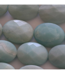 BeauMonde Jewelry - Amazonite China 15x20 mm faceted oval