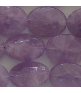 BeauMonde Jewelry - Amethyst light 15x20 mm faceted oval