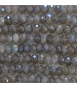 BeauMonde Jewelry - Labradorite 5x6 mm mixed faceted washer