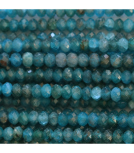 BeauMonde Jewelry - Apatite 4x2.5/3 mm faceted washer Africa