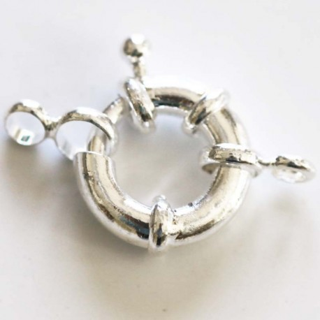 BeauMonde Jewelry - Bouet clasp 14 mm silver metal