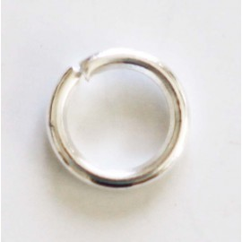 BeauMonde Jewelry - Ring 6 mm silver metal titanium color
