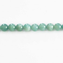 Amazonite 8 mm perle ronde