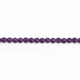 BeauMonde Jewelry - Amethyst 4 mm round pearl