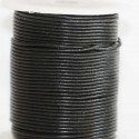 BeauMonde Jewelry - Leather 2 mm black coil of 50 mt
