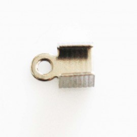 Silver metal toe band 6 mm