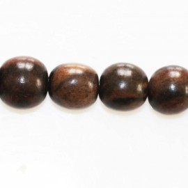BeauMonde Jewelry - Tiger ebony round pearl 10 mm