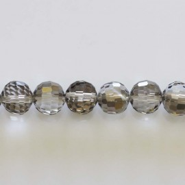 BeauMonde Jewelry - Faceted bead smoky 10 mm