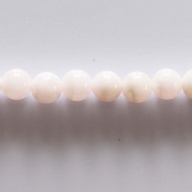 Calcite mangano 8 mm round bead
