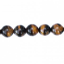 Tiger eye 10 mm round bead