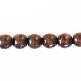 BeauMonde Jewelry - Wooden bead 10 mm round brown