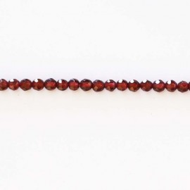 BeauMonde Jewelry - Garnet 4 mm beads round faceted