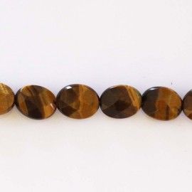 BeauMonde Jewelry - Tiger eye 8x10 mm oval faceted