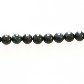 Falcon eye round bead 6 mm