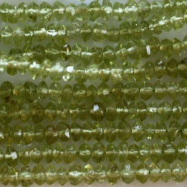 BeauMonde Jewelry - Peridot 2/3 mm faceted