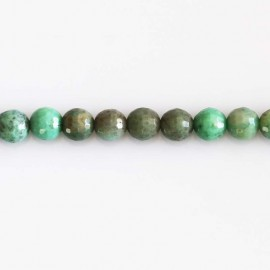 BeauMonde Jewelry - Opal green 6 mm faceted beads