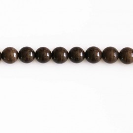 BeauMonde Jewelry - Jasper brown 6 mm round bead