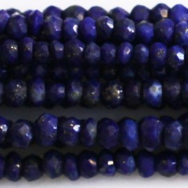 BeauMonde Jewelry - Lapis lazuli 2/3 mm faceted