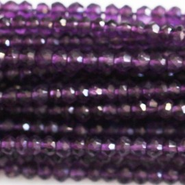Amethyst 2/3 mm faceted