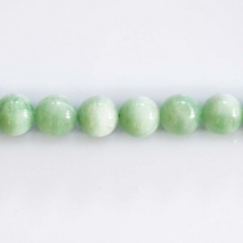 Chrysoprase 7 mm perle ronde