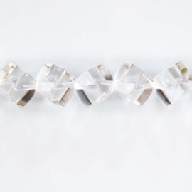 BeauMonde Bijoux - Cristal 8 mm cube diagonal