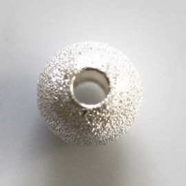 BeauMonde Jewelry - 10 mm round diamond bead