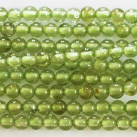 BeauMonde Jewelry - Peridot 3 mm round bead