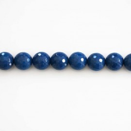 BeauMonde Jewelry - Jade tinted 6 mm beads round faceted