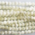 BeauMonde Jewelry - Mother of Pearl 3/2. 5 mm white round pearl