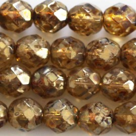 BeauMonde Jewelry - Bohemian beads 8 mm round faceted