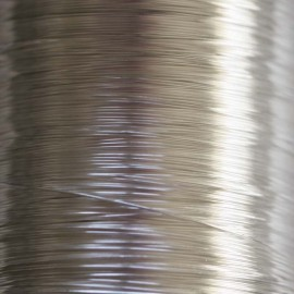 Annealed wire 0.60 mm metal silver