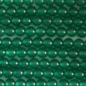 Agate green 4 mm round bead