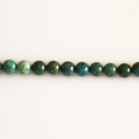 Chrysocolle 6 mm round bead
