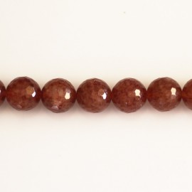 Muscovite 10 mm bead round faceted