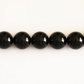 Onyx 12 mm perle ronde