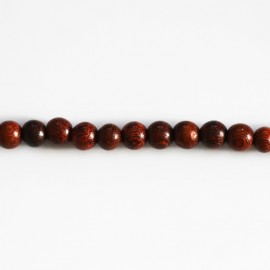 Bayong wooden bead round 6 mm