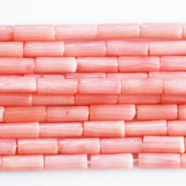Bamboo 2X7 mm pink tube