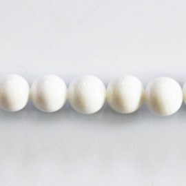 Shell round bead 10 mm