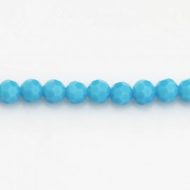 Bead 6 mm round faceted