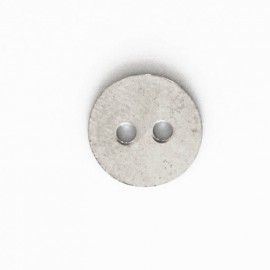 BeauMonde Bijoux - Fermoir bouton 12 mm rond 2 trous