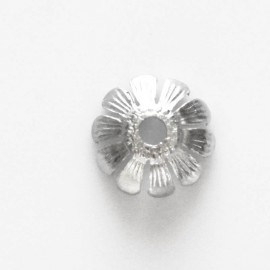 BeauMonde Jewelry - Daisy cup 11 mm silver